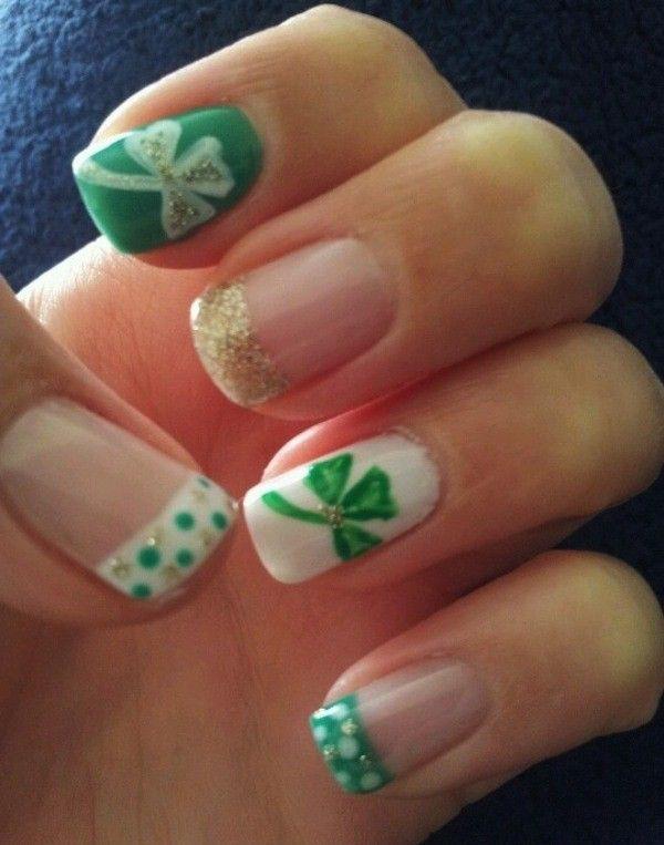 green nail-35