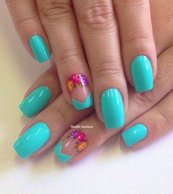 green nail-39