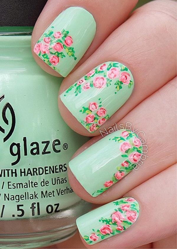 green nail-4