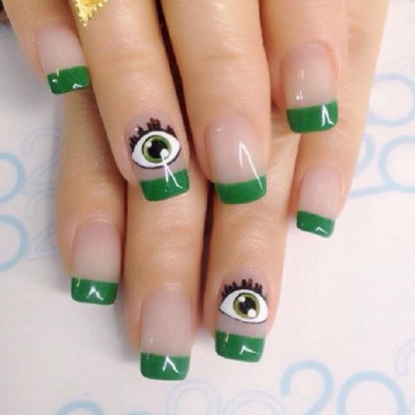 green nail-40