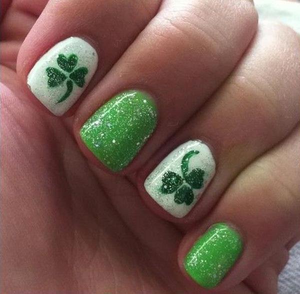 green nail-42