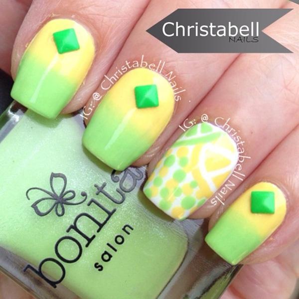 green nail-44