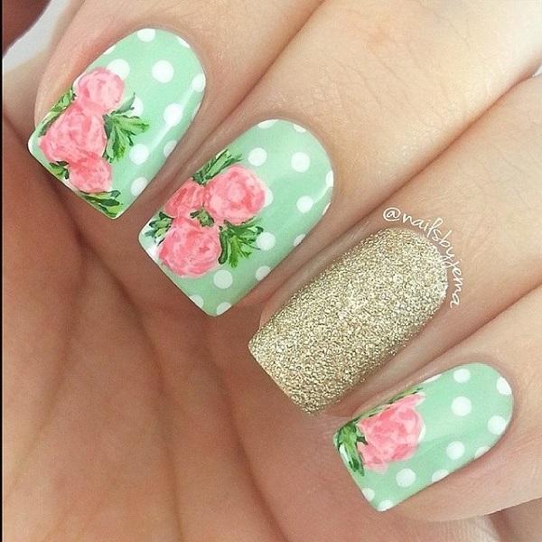green nail-45
