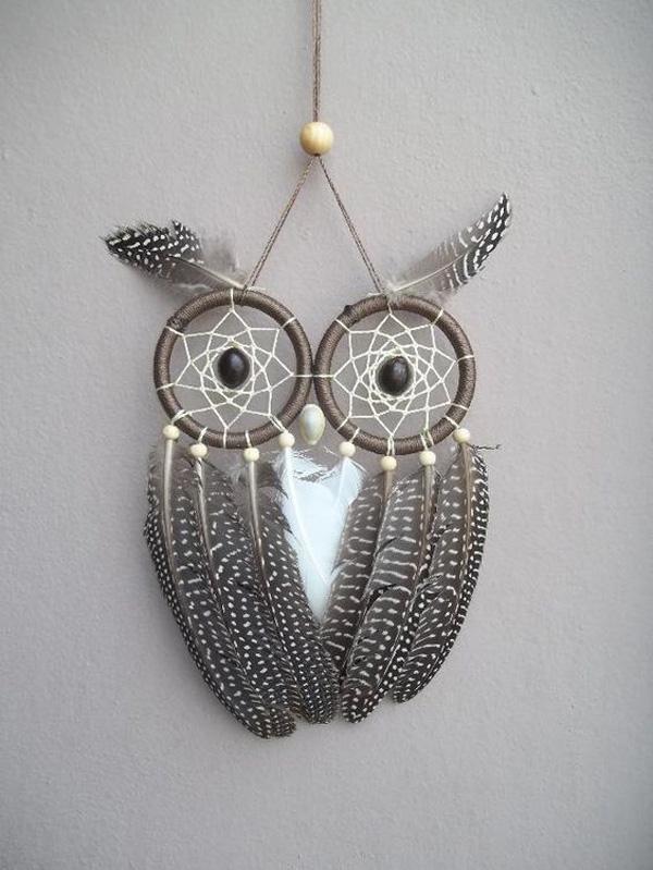 owl or dreamcatcher