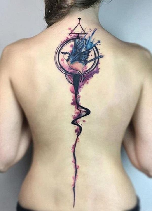 40 Spine Tattoo Ideas For Women Art And Design