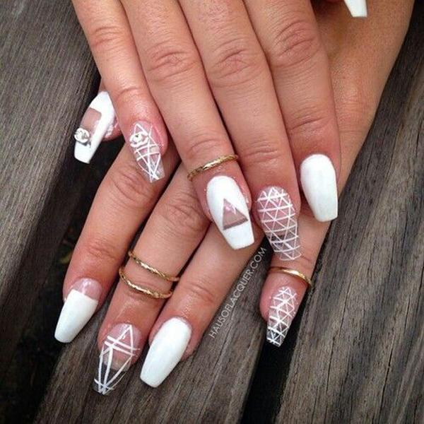 50 Coffin Nail Art Ideas | Art and Design