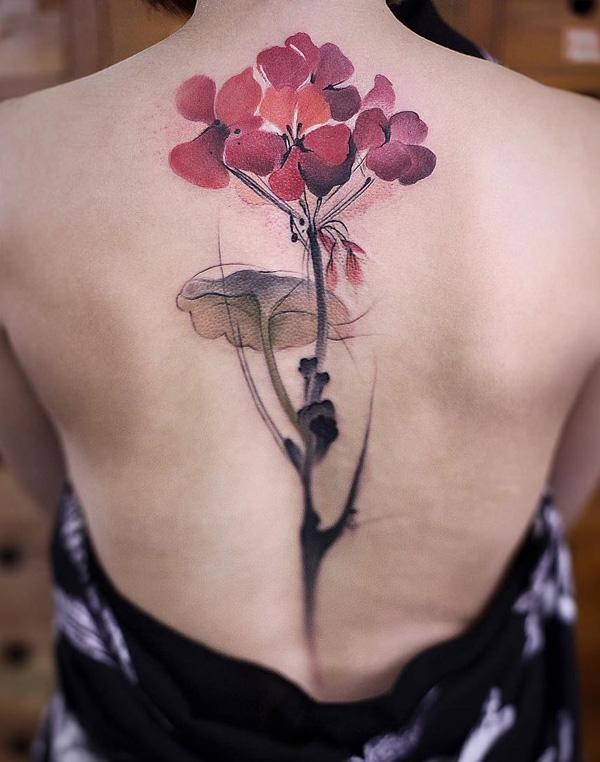 flower-spine-tattoo-40