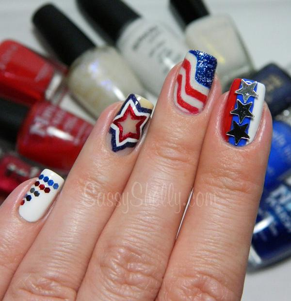 fourth of july nail-1