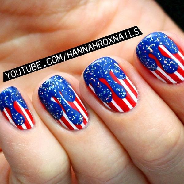fourth of july nail-11