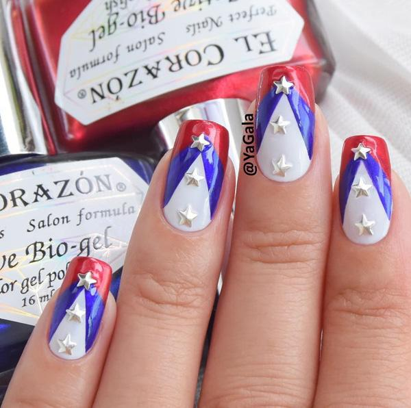 fourth of july nail-14
