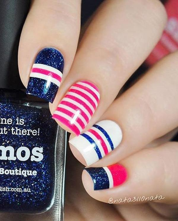 fourth of july nail-15