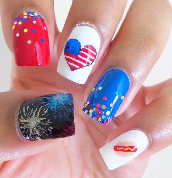 fourth of july nail-18