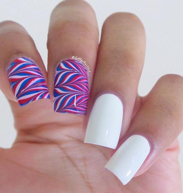 fourth of july nail-22