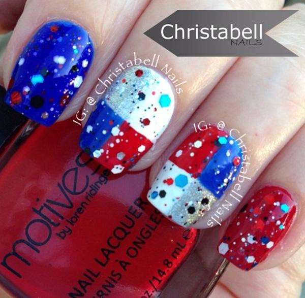 fourth of july nail-23