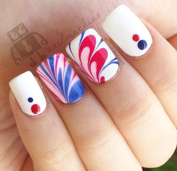 fourth of july nail-29