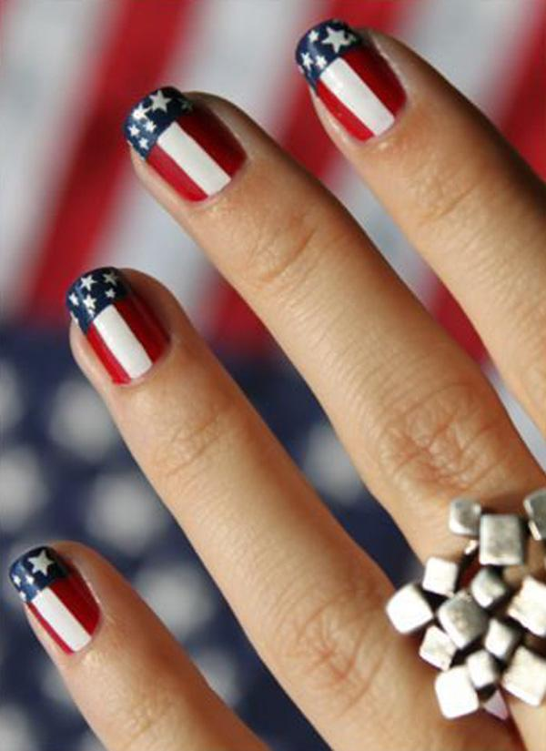 fourth of july nail-39