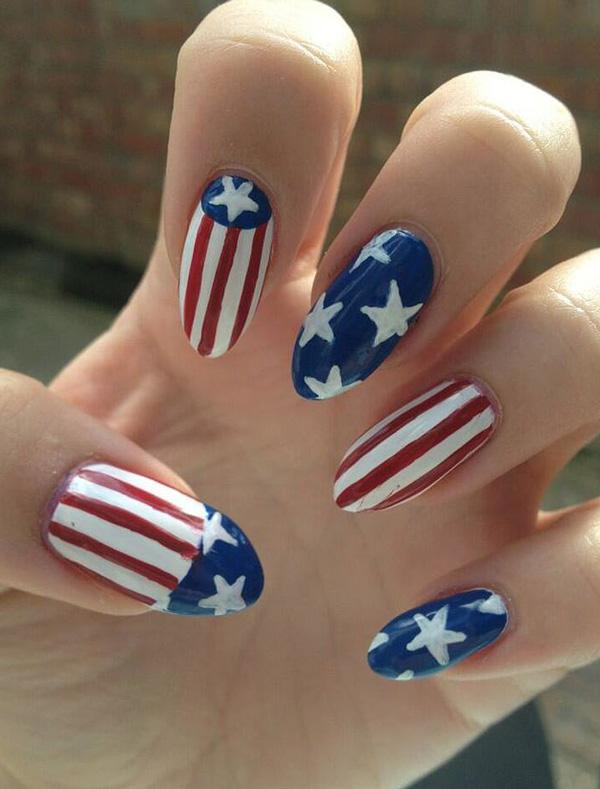 fourth of july nail-40