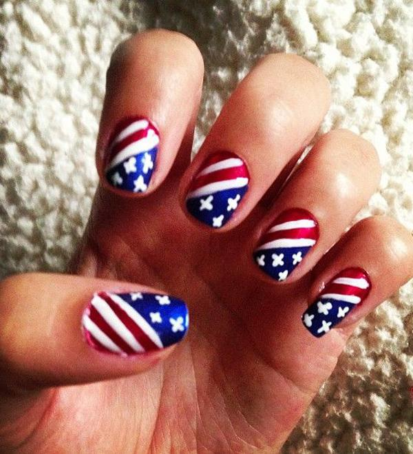 fourth of july nail-41