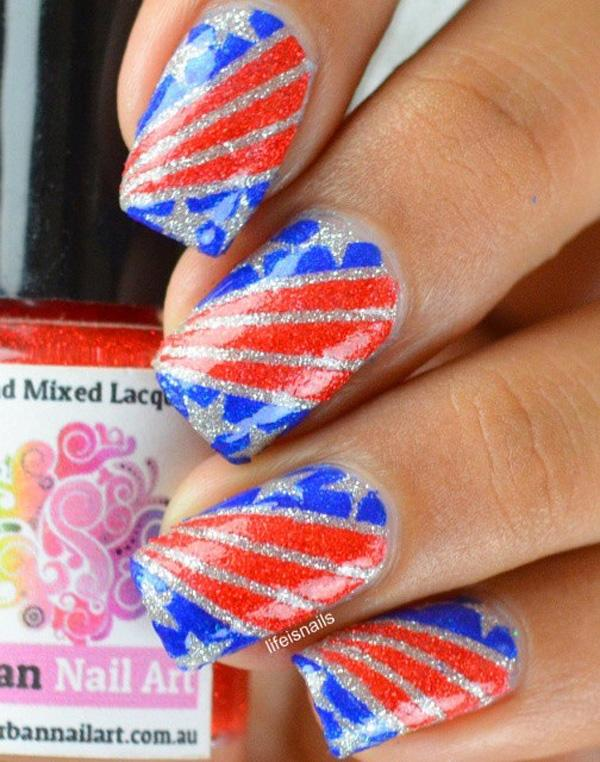 fourth of july nail-6