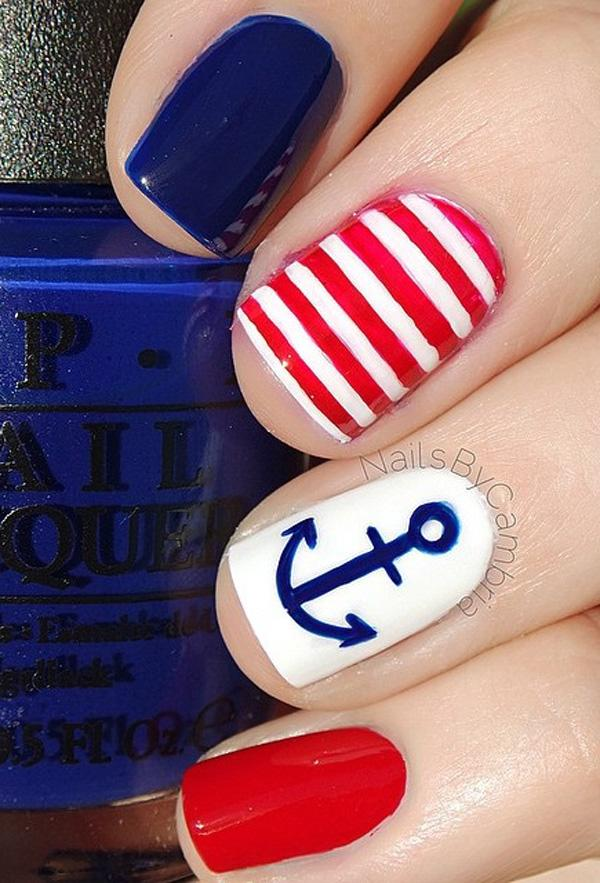 fourth of july nail-8