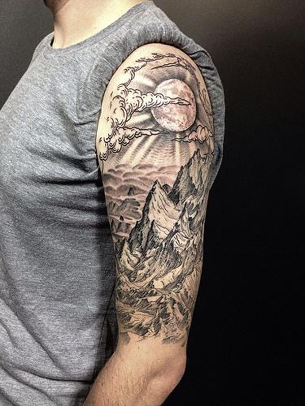 mountain tattoo-12