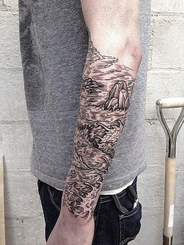 mountain tattoo-13