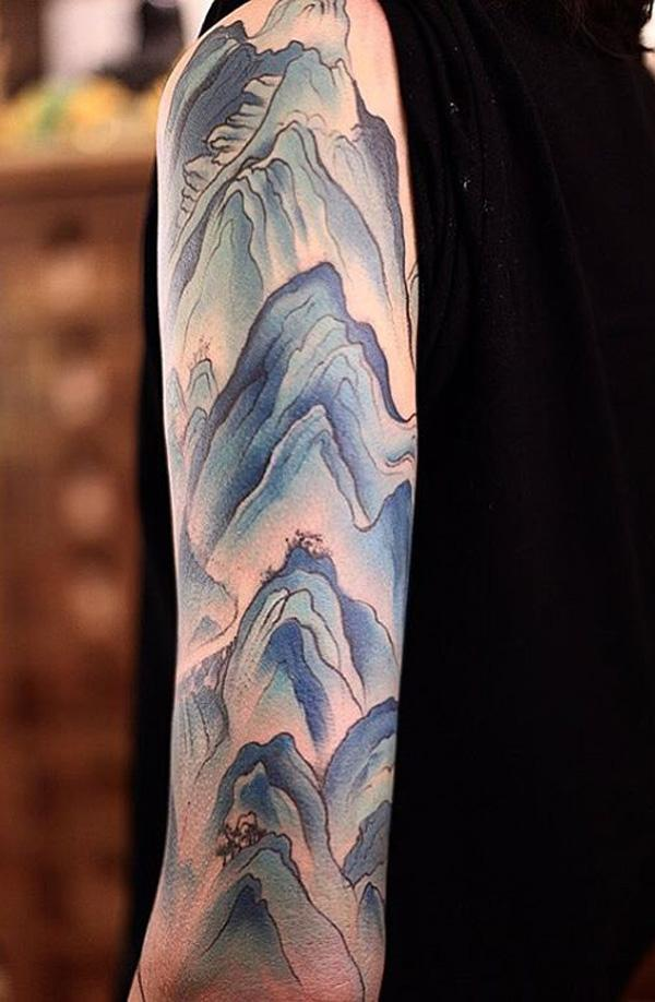 mountain tattoo-2
