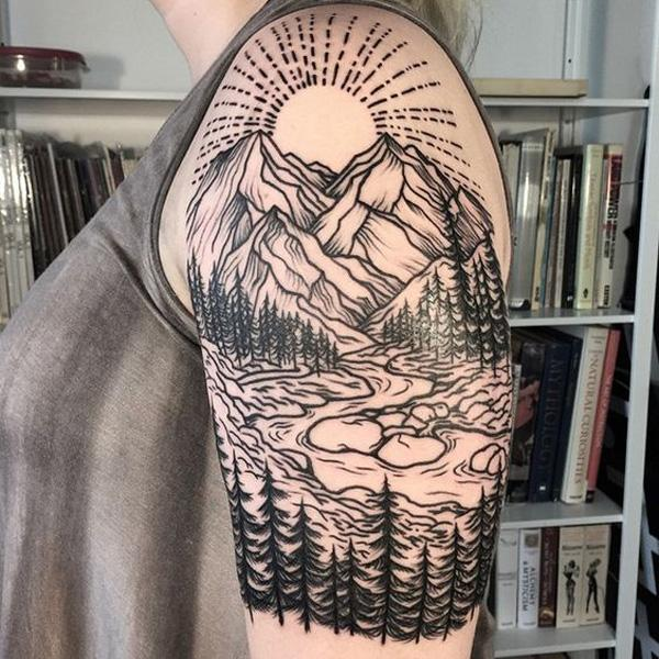 mountain tattoo-28