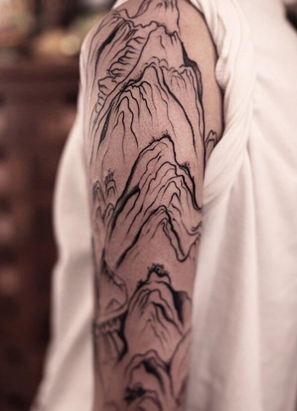 mountain tattoo-3