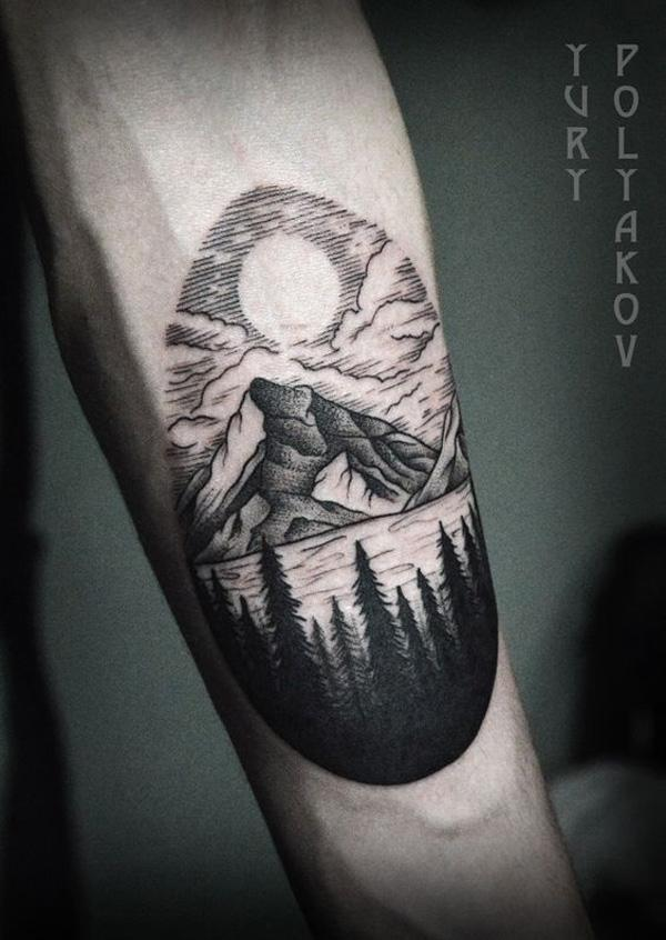 mountain tattoo-32