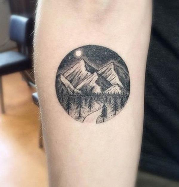 mountain tattoo-34