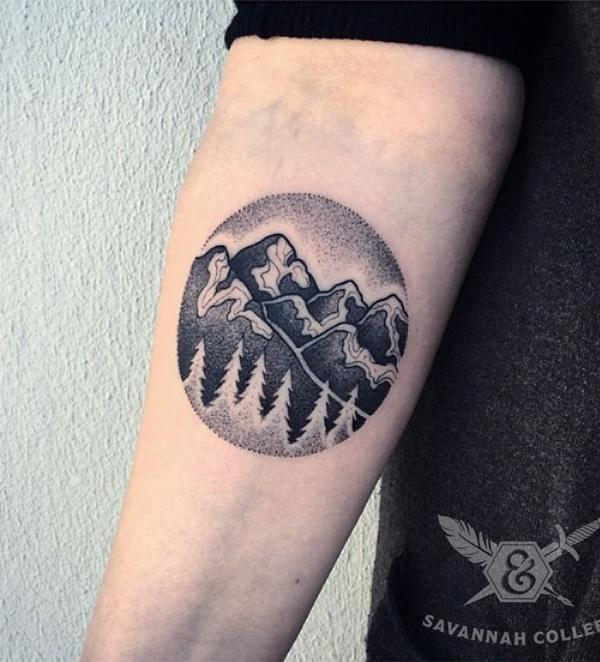 mountain tattoo-5