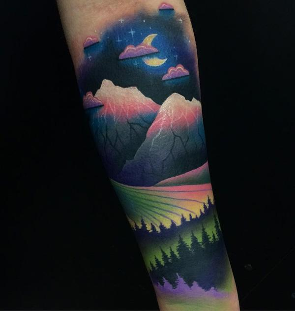 mountain tattoo-7