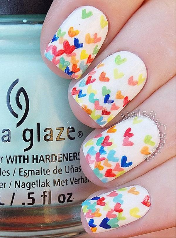 50 White Nail Art Ideas Art And Design