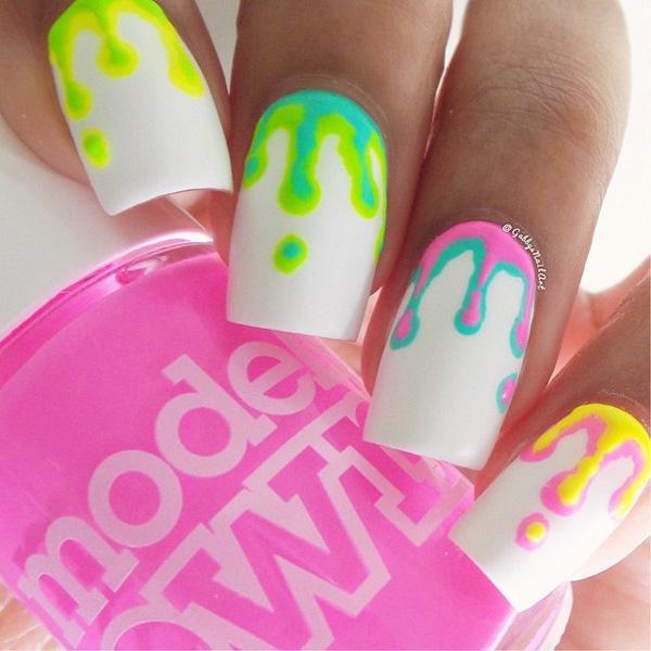 white nail art-29