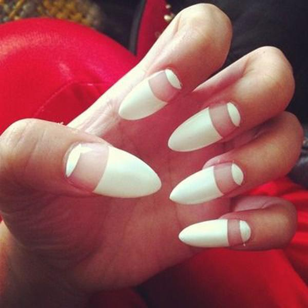 white nail art-34