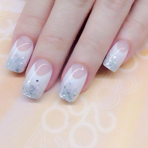 white nail art-38