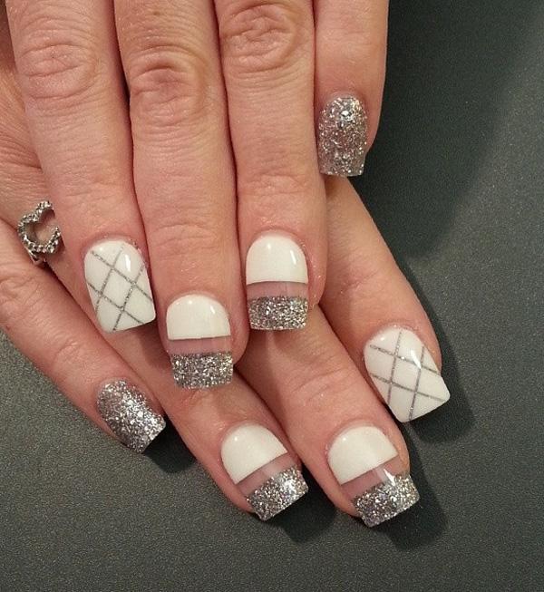 white nail art-4