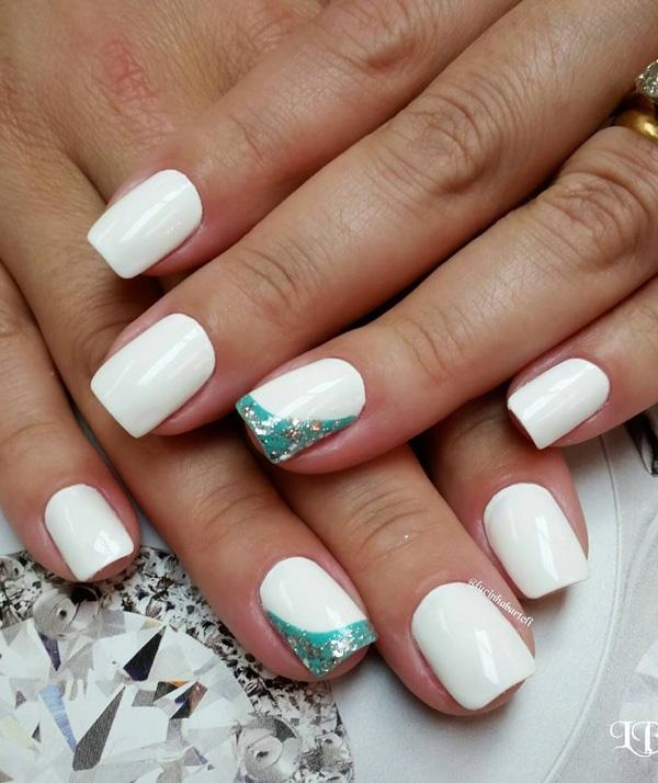 White Nail Art Graham Reid
