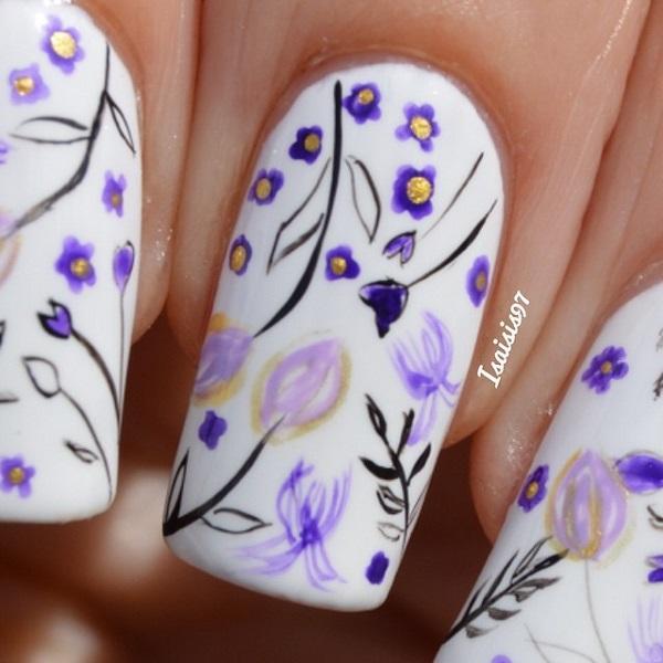 white nail art-44