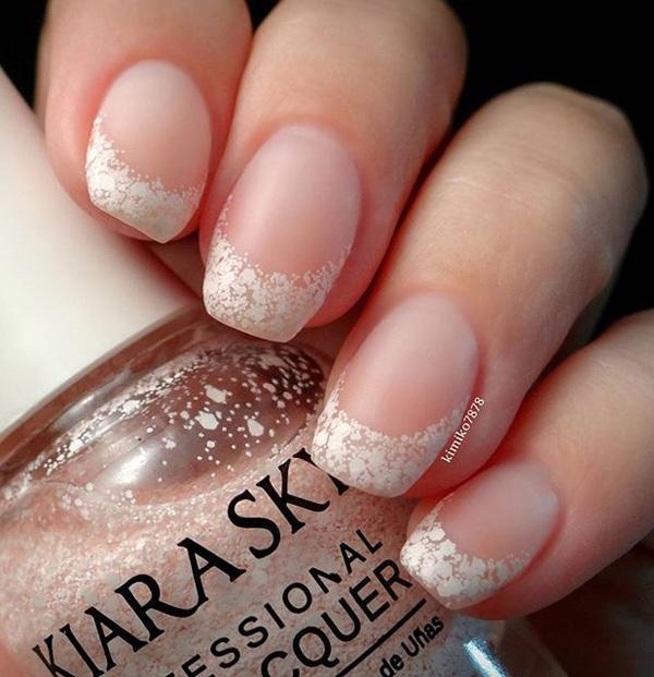 white nail art-5
