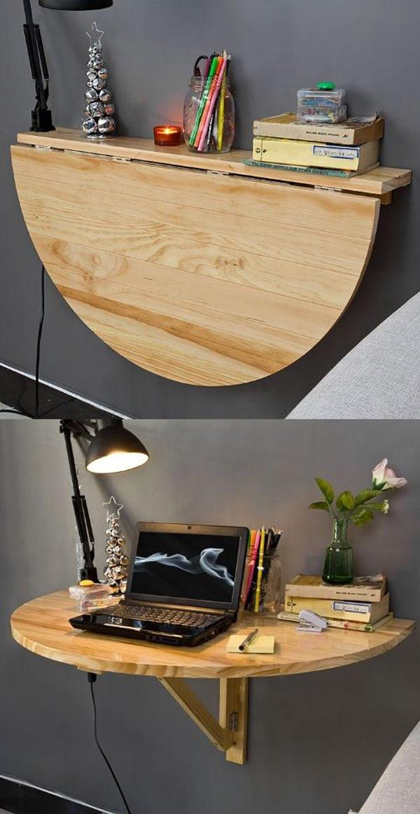 A Cool Drop-Leaf Table