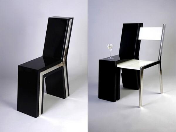 Chair Inside A Chair – Compact and Space Saving