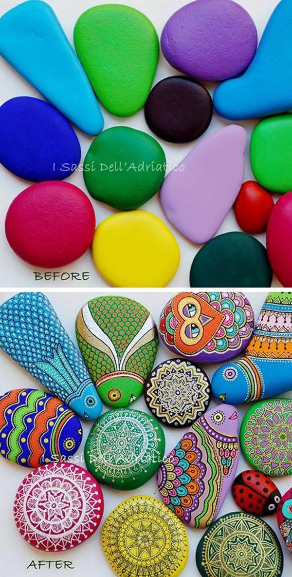 DIY Painted Rocks-15