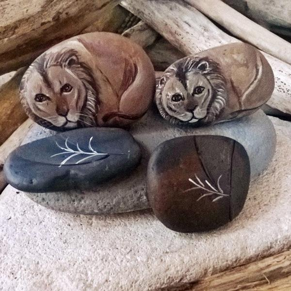 DIY Painted Rocks-21