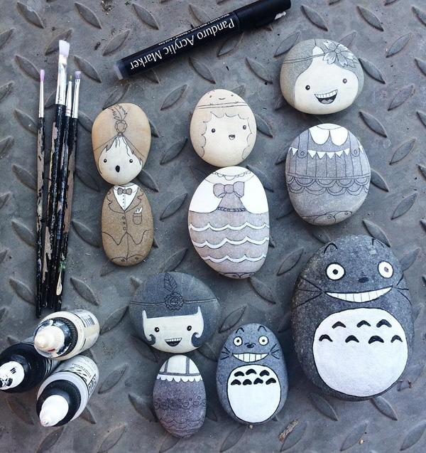 DIY Painted Rocks-25
