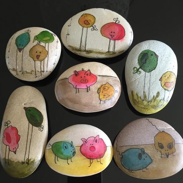 DIY Painted Rocks-27