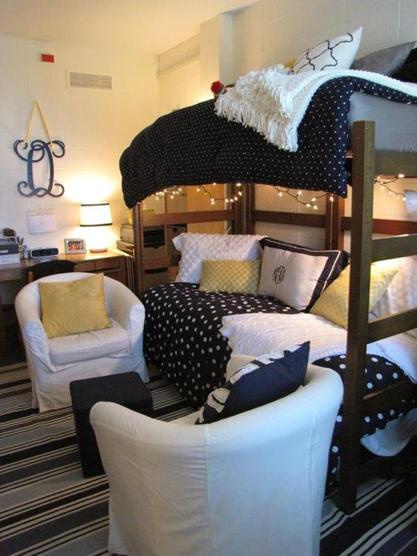 Decorating Ideas > 45 Creative Dorm Room Ideas  Art And Design ~ 042759_Dorm Room Furniture Ideas