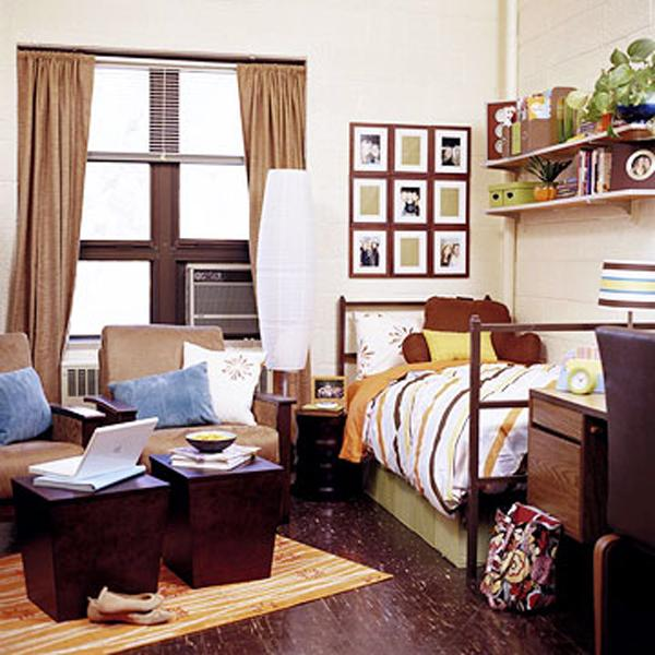 45 Creative Dorm Room Ideas  Art and Design ~ 072157_Dorm Room Themes For Guys