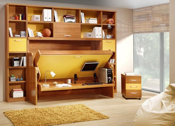 25 folding furniture designs for saving space art and design - Convertible desks for small spaces ...